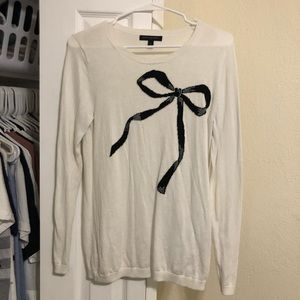 BR Bow Sweater